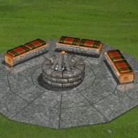 FR Fire Pit