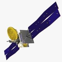 3d orbiting geo cob model