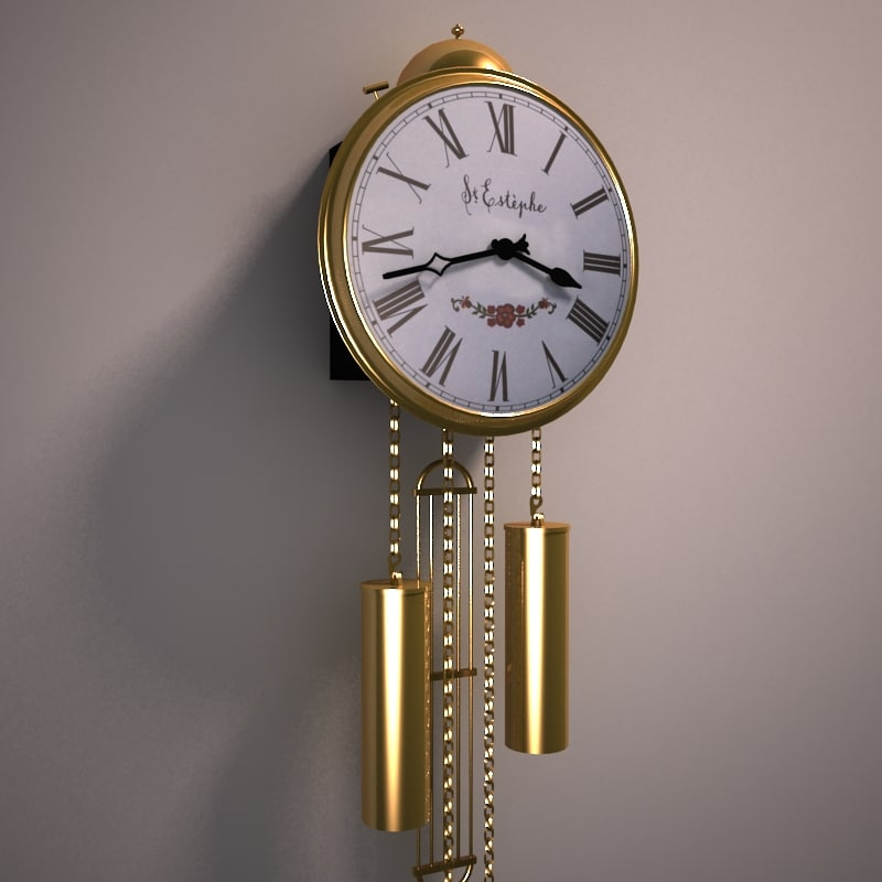 3ds max shield clock