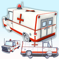 EMT Ambulance Van