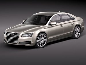 3ds max audi a8 2011 luxury