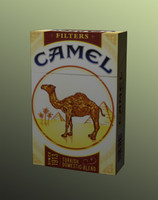 Camel (low poly).