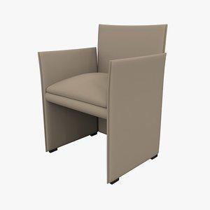 chair 401 break 3d model