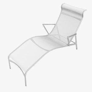 3d model alberto meda longframe chaise