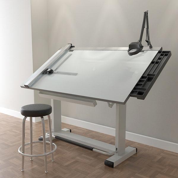 pro drafting table set 3d model