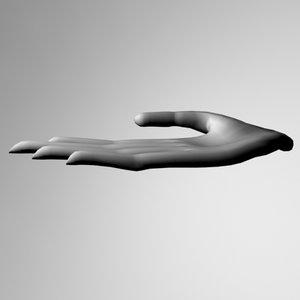 hand long 3d model