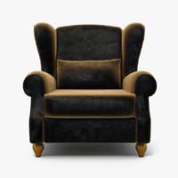 furniture armchair 3d model