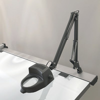 Drafting Swing Arm Magnifying Lamp