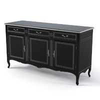 FLAI CLASSIC 734 CHEST OF DRAWERS COMMODE BUREAU BUFFET