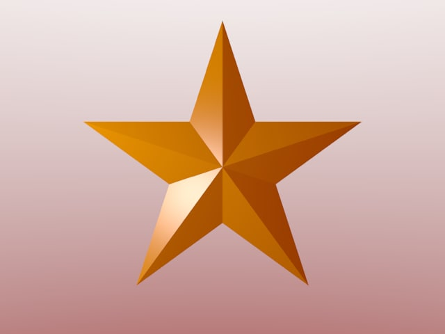 20 face star 3ds free
