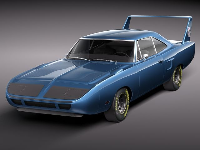 plymouth road runner roadrunner 3d lwo