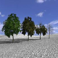 3ds max arboles trees
