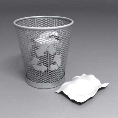 maya recycle bin icon