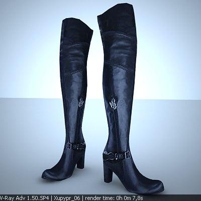 female mark nason tawny 3d model
