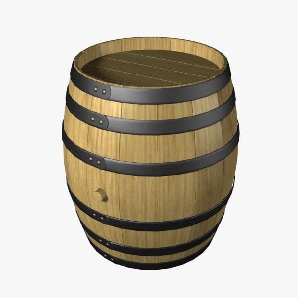 barrel 3d dxf