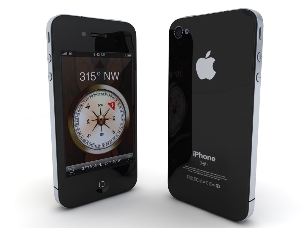 3d model apple iphone 4g new