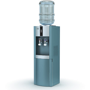 water cooler ecotronic h1-lf 3d model