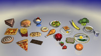 cinema4d food 1