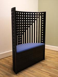 lattice chair 3d max
