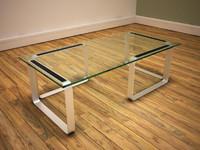 3d model modern coffee table