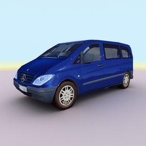 3d 2008 mercedes vito model