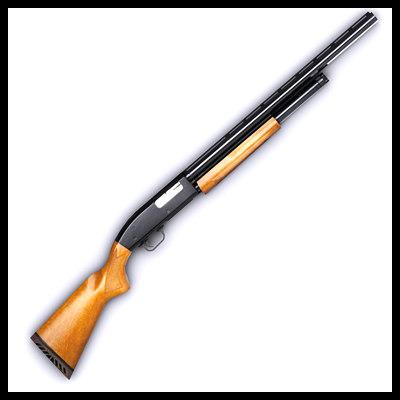 remington 870 3d model