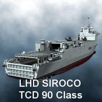 LHD SIROCO TCD 90 class