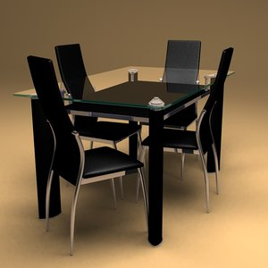 maya contemporary dinning table chair