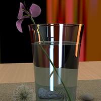 materials scene 3d model