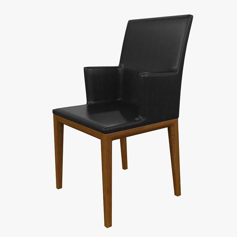 3d chair andoo walter knoll