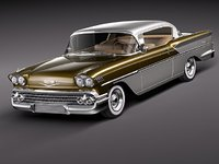 Chevrolet Bel Air 1958 Hardtop Coupe