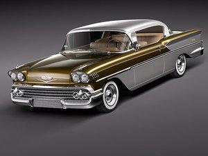 3d model chevrolet impala bel air