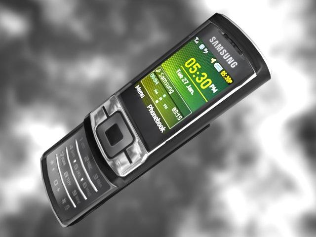 samsung c3050 3d model