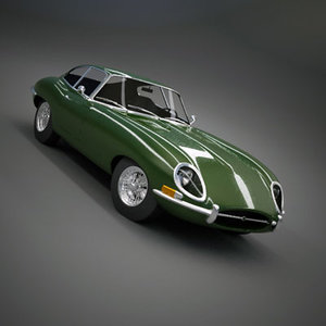 e-type coupe 3ds