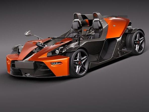 ktm x-bow sport 3d model