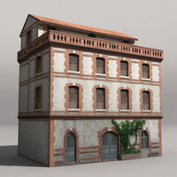 low poly house -1