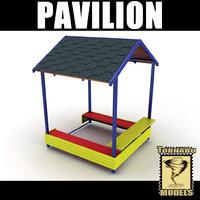 playground pavilion 3d max