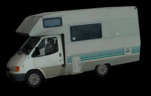 3d model auto camper
