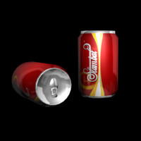 3d soda lowres cans