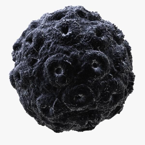 brome mosaic virus 3d model