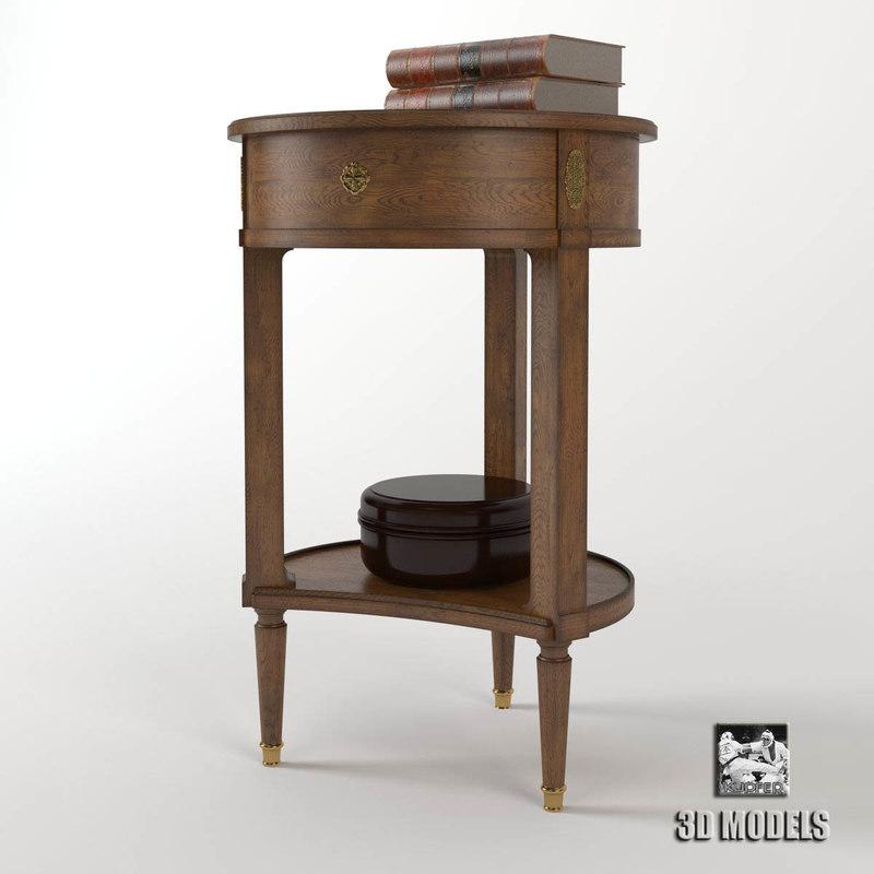 salda small table 3d model