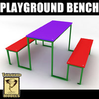 playground table 3d 3ds