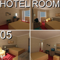 hotel guest room 05 3d dwg