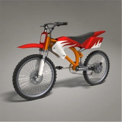 bike 3d obj