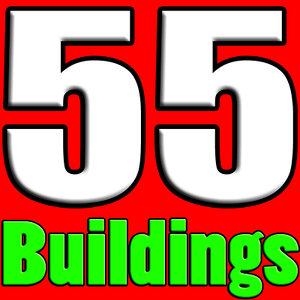 3d model 55 buildings
