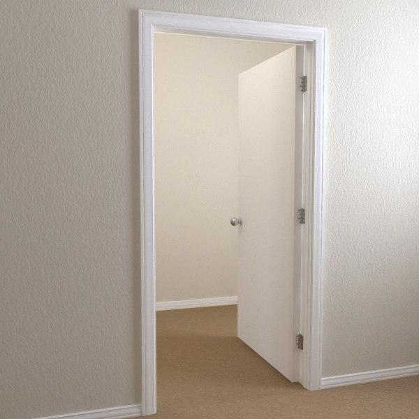 3d Interior Door Flat Panel