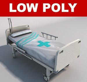 hospital bed c4d