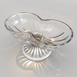 vintage ice cream dish 3d 3ds