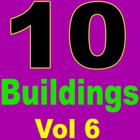 10 buildings 3d max