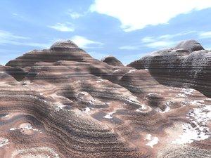 max mountain terrain landscape